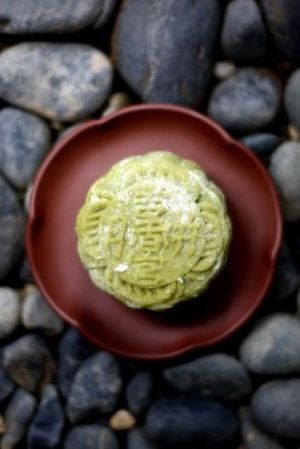 green tea snow skin mooncake.jpg